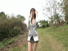 Nice outdoors fucking with pretty japanese girlfriend junko hayama videos