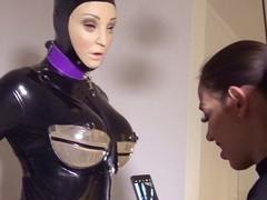 Mistress tatjana : sexually used rubberdoll, BDSM, Fetish, Slave, Latex movies at kilomatures.com