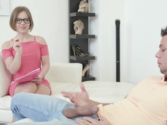 Horny model sasha zima takes a giant dick in her mouth and pussy, Couple, Hardcore, Glasses, Blowjob, Bra, Panties, Lingerie, Stockings, Nylon, Missionary, Pussy, Pussy Licking, Natural Tits, Cougars, Pornstars, Office movies at kilogirls.com