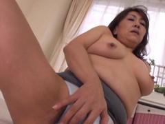 Homemade amateur video of horny mature kondou ikumi masturbating movies at kilogirls.com