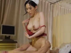 Nice fucking on the hospital bed with an adorable japanese nurse movies at find-best-pussy.com