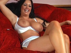 Naughty cougar kerry-louise knows how to pleasure her cravings, Solo Models, Masturbation, Reality, Casting, Brunettes, Long Hair, Bra, Panties, Big Tits, Natural Tits, Pussy, High Heels, Shaved Pussy videos