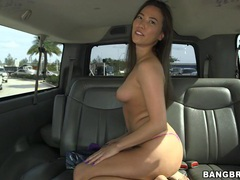 Hardcore fucking in back of the car with hot ass asian kalina ryu movies