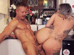 Perfect big ass and tits escort milf pov date, Couple, Hardcore, Kitchen, German, Long Hair, Handjob, Blowjob, Tattoo, Big Tits, Fake Tits, Asshole, Pussy, Shaved Pussy, Missionary, Fingering videos
