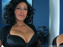 Horny milf danica collins spreads her legs to finger her cunt, Mature, British movies at find-best-pussy.com