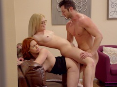 One hard dick is enough to satisfy edyn blair and katie kush, Threesome, FFM, Hardcore, Pornstars, Housewife, Doggystyle, Hot Ass, Blowjob, Glasses, Missionary, Natural Tits, Cowgirl, HD POV movies at find-best-pussy.com