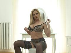 Hot ass blonde cougar lili peterson enjoys pleasuring her pussy, Solo Models, Masturbation, Blondes, Pornstars, MILF, Bra, Lingerie, Stockings, Nylon, Big Tits, Fake Tits, Panties, Toys, High Heels videos