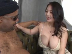 Black man with a giant dick gets a blowjob from pretty mako oda movies at kilopills.com