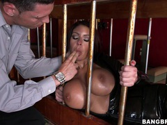 Busty cutie brook ultra likes it when a friend plays with her tits, BDSM, Fetish, Slave, Latex movies at find-best-pussy.com