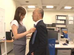 Small tits japanese girl kaede fuyutsaki gets fucked in the office videos