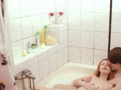 Quickie fucking in the bathroom with an amateur girlfriend. hd, Couple, Hardcore, Bath, Redhead, Blowjob, Ball Licking, Pussy, Homemade movies at kilopills.com