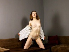 Video of skinny redhead angelica peachy pleasuring her wet pussy, Solo Models, Masturbation, HD Teen, Miniskirt, Socks, Natural Tits, Panties, Hot Ass, Pussy, Shaved Pussy, Asshole videos