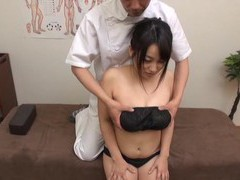 Massage leads to passionate fucking with a cute japanese amateur movies at freekilosex.com