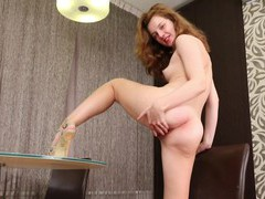 Solo girl kim n spreads her legs and fingers her wet fuck hole, Solo Models, Masturbation, HD Teen, Thong, Hot Ass, High Heels, Pussy, Shaved Pussy, Asshole, Fingering videos