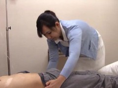 Pretty japanese nurse takes a long dick in her mouth and makes him cum movies at freekilosex.com