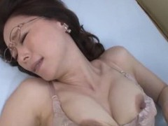 Foxy japanese mature masturbates and gets fucked good by her lover movies at freekilosex.com