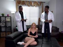 Hardcore interracial threesome with dp for skinny chloe cherry, Hardcore, Threesome, MMF, Interracial, Blondes, Toys, Handjob, Blowjob, Natural Tits, Big Black Cock, Big Cocks, Doggystyle, Anal, Pussy, Cowgirl, Double Penetration, Missionary videos