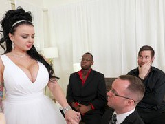 Cuckold hubby watches payton preslee getting fucked by black dudes, Hardcore, Threesome, MMF, Interracial, Cuckold, Housewife, Brunettes, Long Hair, Chubby, Tattoo, Big Tits, Fake Tits, Pussy, Shaved Pussy, Blowjob, Handjob, Big Black Cock, Big Cocks, Mis movies at freekilosex.com