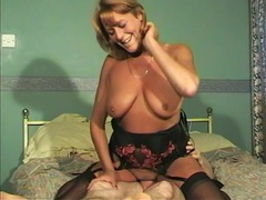 Wild fucking on the bed with cock hungry mature neighbor kristy, Mature, British videos
