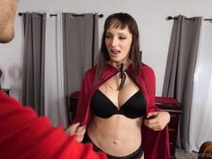 Milf wife lexi luna drops on her knees to give a sloppy blowjob, Couple, Hardcore, Pornstars, Bra, Big Tits, Fake Tits, Blowjob, Ball Licking, Handjob videos