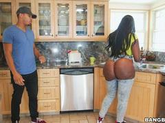 Hardcore fucking with massive ass ebony pornstar victoria cakes, Couple, Hardcore, Ebony, Chubby, Long Hair, Shorts, Outdoor, Pool, Black Butt, Big Tits, Blowjob, Ball Licking videos