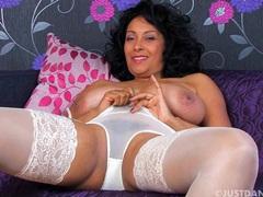 Video of busty wife danica collins pleasuring her wet pussy, Solo Models, Masturbation, British, MILF, Pornstars, Brunettes, Big Tits, Natural Tits, Panties, Lingerie, Stockings, Nylon, High Heels, Camel Toe videos