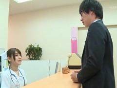 Sexy japanese nurse momozono mirai goes down on her knees to blow videos