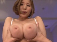 Busty asian girl saijou ruri spreads her legs to ride in cowgirl movies
