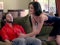 Wild fucking in the living-room with skinny honey rosalyn sphinx, Couple, Hardcore, Brunettes, Blowjob, Tattoo, Pussy Licking, Pussy, Missionary, Hot Ass, Small Tits movies
