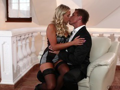 Mature wife gets her pussy and ass fucked by her sexy lover, Couple, Hardcore, Pornstars, Blondes, Long Hair, Lingerie, Stockings, Nylon, Pussy Licking, Fingering, Handjob, High Heels, Doggystyle, Anal, Toys, Cowgirl, Housewife videos