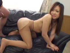 Pov video of a small tits asian girl giving head and getting fucked movies