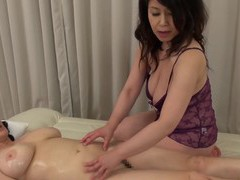Two asian matures drop their clothes to have a kinky lesbian sex movies
