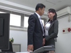 Video of foxy secretary from japan pleasuring her horny boss movies at freekiloporn.com