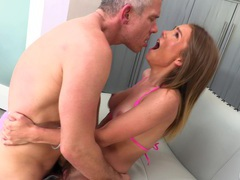 Passionate fucking with adorable girlfriend natalie knight, Couple, Hardcore, Bikini, Cowgirl, Blowjob, Natural Tits, Missionary, Doggystyle, Pussy, Orgasm videos