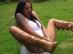 Wild neighbor victoria brown loves fisting her horny fuck hole, Solo Models, Masturbation, British, Brunettes, Long Hair, Tattoo, Big Tits, Fake Tits, Pussy, High Heels, Leather, Fisting, Pornstars movies