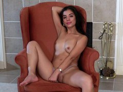 Gorgeous latina lily rain pleasures her pussy with a vibrator, Solo Models, Masturbation, Latina, Brunettes, Long Hair, Natural Tits, HD Teen, Pussy, Shaved Pussy, Thong, Toys movies at freekilosex.com