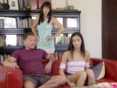 Guy with a fat cock fucks juicy pussy of adorable emily willis, Couple, Hardcore, Brunettes, Long Hair, Blowjob, Missionary, Miniskirt, Hot Ass, Cowgirl, Pussy, Shaved Pussy, Small Tits movies at freekilomovies.com