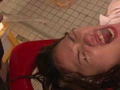 Miu got covered with hot piss while having hard movies at freekiloclips.com