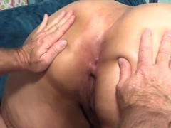 Hot n horny bbws enjoy their plump pussies getting fucked from behind in doggy style, BBW videos