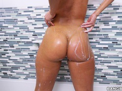 Horny blonde cutie candice dare masturbates and gets fucked, Couple, Hardcore, Bath, Soapy, Fingering, Blowjob, Anal, Missionary, Small Tits videos
