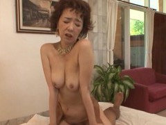 Japanese cougar kei marimura with nice tits gets fucked good movies at freekiloclips.com