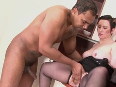 Older chick zolli enjoys getting fucked by a fat black cock, Mature, Short Hair movies at find-best-videos.com