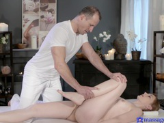Massage leads to passionate fucking with a nice tits and ass amateur, Couple, Hardcore, Massage, Pussy, Shaved Pussy, Oiled, Natural Tits, Fingering, Cowgirl, Hot Ass, Doggystyle, Missionary videos