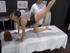 Oiled japanese amateur gets licked and fucked balls deep by a perv movies at find-best-mature.com
