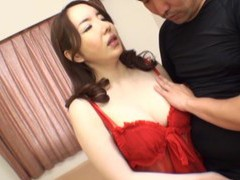 Closeup video of a horny japanese milf having passionate sex movies at freekiloclips.com