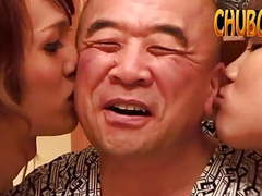 Daddy saito with ladyboys movies at kilovideos.com
