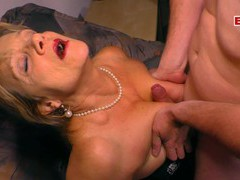 German big boobs blonde mature milf fuck, Mature, Granny movies at freekilomovies.com