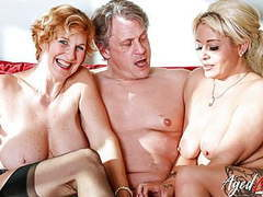 Agedlove two blonde ladies have hard threesome sex, Blowjob, Mature, Pornstar, Big Boobs, Old &,  Young, Threesomes, HD Videos, Big Natural Tits, Threesome, Hard, Small Boobs, Lick My Pussy, Threesome Sex, Ladies, European, Big Cock Fucking, Vagina Fuc videos