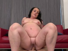 Closeup video of wild fucking with a cock hungry mature bbw slut, Mature, BBW videos