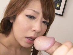Japanese beauty, saho mikura got fucked, uncensored movies
